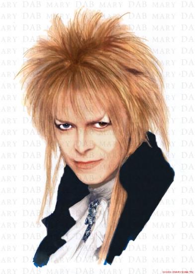 David Bowie por MaryDab